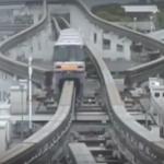 海外「日本は先端技術の超大国だ!」大阪のモノレールの複雑さに外国人から驚きの声!