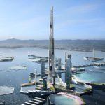 海外「興味深いわ!」東京湾に1700mの超巨大タワー建設?海外から驚きの声!