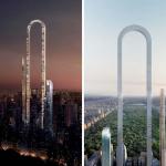"""海外「オーマイガ!」世界初の""""U字型超高層ビル""""計画に外国人から驚きの声!"""