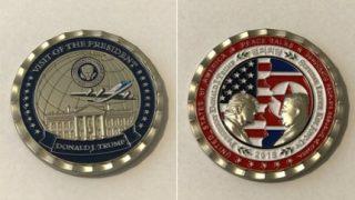 韓国「米国がトランプと金正恩の記念コインを作ったよ!」トランプは従北アカだ!の声
