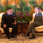 韓国「現地到着した金正恩がシンガポール首相と会談実施!」独裁者の息子達だ!の声
