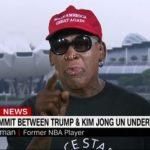 韓国「米朝の歴史的会談に金正恩の親友、デニスロッドマンが感涙!」韓国人から称賛の声