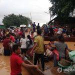 韓国「韓国SK建設が作ったラオスのダムが崩壊!洪水で死傷者多数、数百人が行方不明。手抜き工事か?」の声