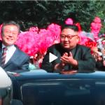 韓国「金正恩と平壌を車パレードする文大統領をご覧ください!今まで一番幸せそうだ」の声