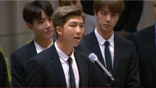 韓国「国連で防弾少年団(BTS)が韓国人歌手として初演説!誇らしい韓国人だ!国格を高めた」の声