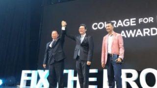 韓国「文大統領と金正恩が『平和のための勇気賞』を共同受賞!ギャグなのか?」の声