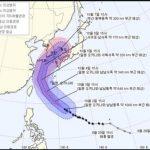 韓国「週末に台風25号が韓国に上陸予定!頼むから日本に行け〜」の声