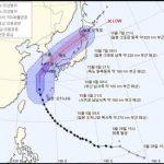 韓国人「台風25号が釜山に上陸。台風よ、日本に行きなさい」の声
