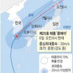 韓国「韓国を通過した台風25号は日本に上陸予定!今回も日本を焦土化して去る」の声
