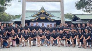 韓国「英軍ラグビーチームが靖国神社参拝!英国は下流国へ転落した!欧州の日本らしい!」の声