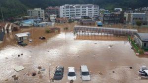 韓国「台風25号による住宅の浸水被害が韓国で発生。被災者350名」韓国人の反応
