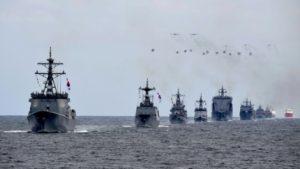 韓国「海自と中国海軍の不参加の中、国際観艦式が開幕!両国は韓国の主敵だ」