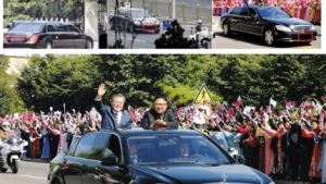 韓国政府「国連は文&金のベンツ同乗写真を制裁違反の事例にするな!」国連「拒否する!」