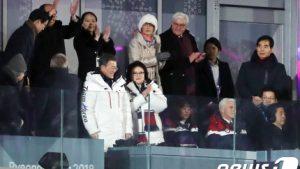 """韓国「五輪開会式のVIP席で""""日米VS南北""""の構図が鮮明になったよ!」安倍首相の不満な表情に韓国人から関心の声"""