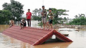 韓国SK建設「ラオスのダム崩壊は大雨のせい!」←4日前に11cmの沈下が発生してた!韓国人の反応